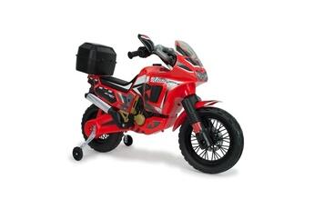 Véhicule à pédales INJUSA Injusa moto électrique enfant honda africa twin 6v rouge volts