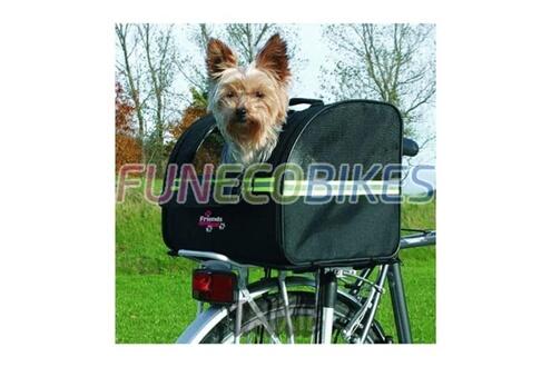 Sac de transport pour chien sur porte bagage - biker bag