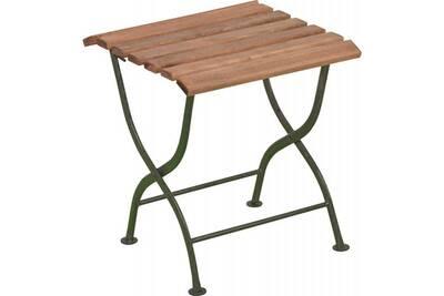 Desserte en bois et métal • mobilier extérieur