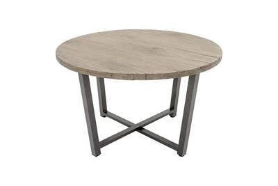 Table ronde en aluminium lausanne • mobilier extérieur