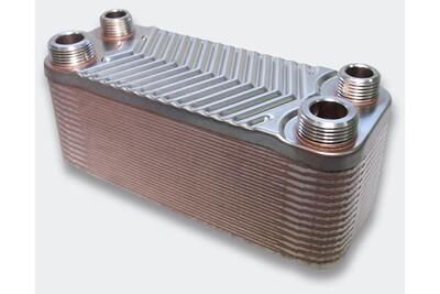 Accessoires chauffage central Helloshop26 Échangeur de chaleur thermique inox 30 plaques max. 66 kw helloshop26 3416024