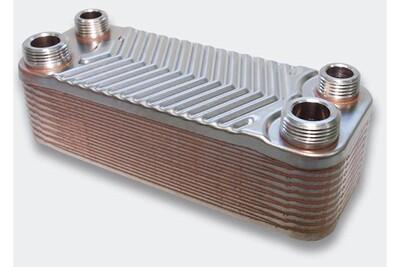 Accessoires chauffage central Helloshop26 Échangeur de chaleur thermique inox 20 plaques max. 44 kw helloshop26 3416023