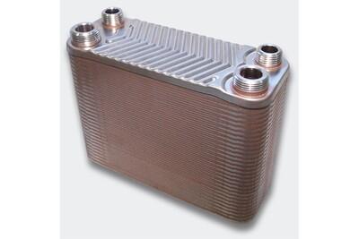 Accessoires chauffage central Helloshop26 Échangeur de chaleur thermique inox 60 plaques max. 130 kw helloshop26 3416026