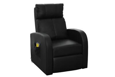Fauteuil de massage Helloshop26 Fauteuil de massage confort relaxant massage chauffage massant détente noir helloshop26 1702004/2