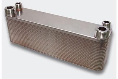 Accessoires chauffage central Helloshop26 Échangeur de chaleur thermique inox 40 plaques max. 165 kw helloshop26 3416028