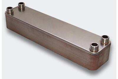 Accessoires chauffage central Helloshop26 Échangeur de chaleur thermique inox 30 plaques max. 330 kw helloshop26 3416034