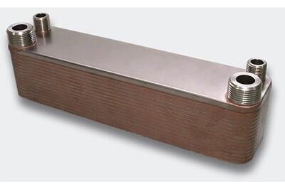 Accessoires chauffage central Helloshop26 Échangeur de chaleur thermique inox 30 plaques max. 125 kw helloshop26 3416027