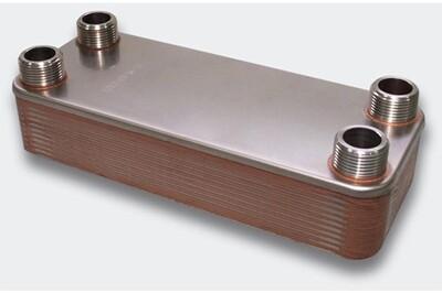 Accessoires chauffage central Helloshop26 Échangeur de chaleur thermique inox 20 plaques max. 115 kw helloshop26 3416030