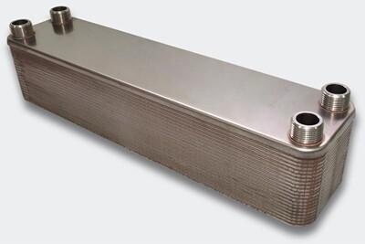 Accessoires chauffage central Helloshop26 Échangeur de chaleur thermique inox 40 plaques max. 440 kw helloshop26 3416035