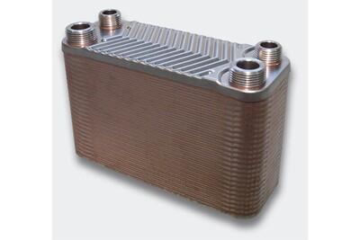 Accessoires chauffage central Helloshop26 Échangeur de chaleur thermique inox 50 plaques max. 90 kw helloshop26 helloshop26 3416025