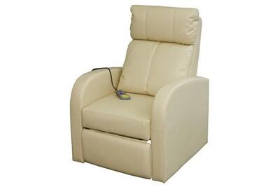 Fauteuil de massage Helloshop26 Fauteuil de massage confort relaxant massage chauffage massant détente beige helloshop26 1702003
