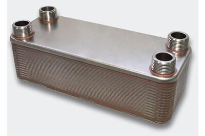 Accessoires chauffage central Helloshop26 Échangeur de chaleur thermique inox 30 plaques max. 175 kw helloshop26 3416031