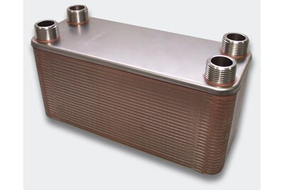 Accessoires chauffage central Helloshop26 Échangeur de chaleur thermique inox 50 plaques max. 285 kw helloshop26 3416033