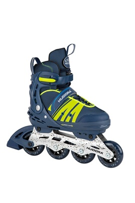 Hudora 28450 roller skates inline comfort  deep blue  point. 29-34