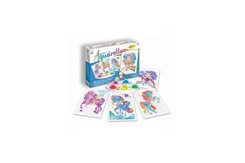 Peinture et dessin SENTOSPHERE Aquarellum junior licornes