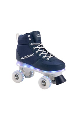 Hudora 13123 roller skate advanced  marine led pointure 35/36