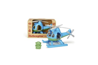 Véhicules miniatures GREEN TOYS Green toys helicoptere bleu