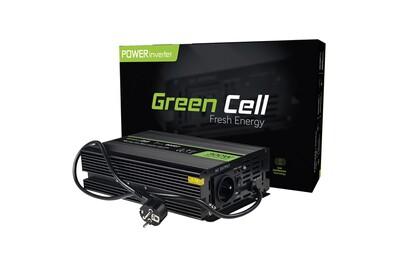 Chargeur / Alimentation Green Cell ® 300w/600w pur sinus convertisseur de tension dc 12v ac 230v ups inverter, peak onduleur transformateur poêles de chauffage central