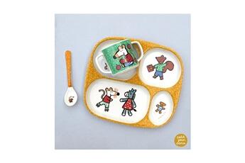 Vaisselle bébé Petit Jour Paris Set repas diversification mimi