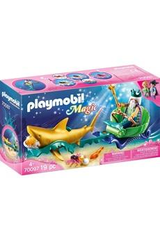 Playmobil PLAYMOBIL Playmobil 70097 magic - roi des mers avec calèche royale