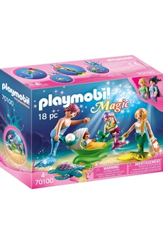 Playmobil PLAYMOBIL Playmobil 70100 magic - famille de sirènes