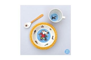 Vaisselle bébé Petit Jour Paris Set petit déjeuner mimi