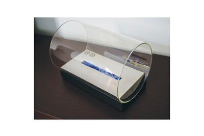 Cheminée bio-éthanol Tecno Air System Cheminée de table au bioéthanol noire chauffage ameublement design monza