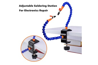 Accessoires pour la voiture Generic Multi-function two arm adjustable soldering station table clip for rc toys car886