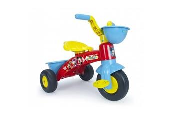 Draisienne Mickey Tricycle mickey avec benne et panier avant