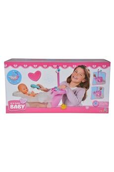 Poupées Simba Toys Simba toys 105560054 new born bain de bébé avec fonction de pompe