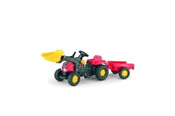 Véhicule à pédales ROLLYTOYS Rolly toys tracteur a pédales enfant et remorque