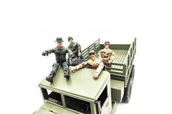 Accessoires pour la voiture Generic Special forces doll model toys for wpl rc car military truck ornamental part car1439