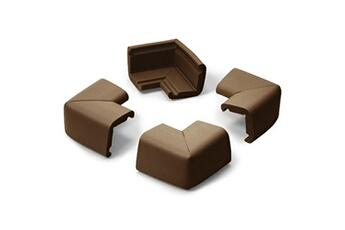 Sécurité intérieure Prince Lionheart 4 coins mousse antichoc grand modèle chocolat