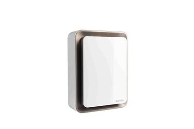 Radiateur électrique Supra Radiateur soufflant mobile blanc & marron 1800w chauffage d'appoint électrique zitto11