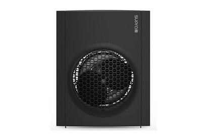 Radiateur électrique Supra Radiateur soufflant mobile noir 2000w chauffage d'appoint électrique compact juno