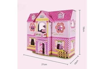 Jouets éducatifs Generic 3d funny model kits diy princess house puzzles education toy meilleure maison pour les enfants vinwo944