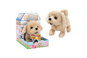 Jouets éducatifs GENERIQUE Cute walking pet barking dog electric toy soft gift plush dog for kids