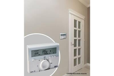 Thermostat et programmateur de chauffage Marque Generique Thermostat d'ambiance thermostat d'ambiance deltia 8.00 programmable électronique filaire