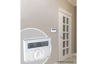 Thermostat et programmateur de chauffage Marque Generique Thermostat d'ambiance thermostat deltia 8.03 programmable radio
