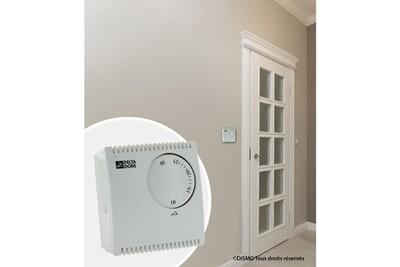 Thermostat et programmateur de chauffage Marque Generique Thermostat d'ambiance thermostat d'ambiance mécanique filaire tybox 10 230 v pour chaudiere