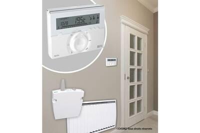 Thermostat et programmateur de chauffage Marque Generique Thermostat d'ambiance programmateur radio fil pilote deltia 8.33 1 a 3 zones
