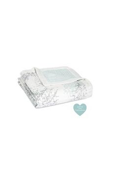 Linge de lit bébé Aden And Anais Aden + anais métalliques couverture de rêve - silky soft dream blanket skylight