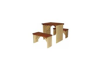 Cabane enfant Axi House Table et bancs pour piquenique zidzed