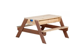 Accessoires pour aire de jeux Axi House Table de jeux en bois - pique nique eau sable nick