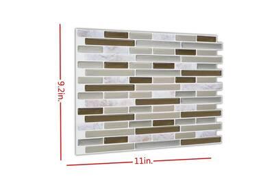 Ustensile De Cuisine Generic 3d Auto Adhesif Carreaux Clever Tiles