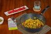 Ourrson Poêle korea wok, 5 ans garantie, indicateur de chauffage, anti-adhésive marble, 28 cm | tous feux : gaz, électrique, induction & céramique, kww2822mr photo 5