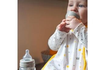 Vaisselle bébé Beaba Bavoir coton couronnes