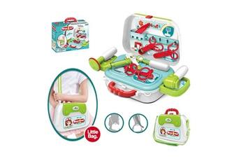 Jouets éducatifs Generic Docteur kids sac à bandoulière enfants mini playset dollhouse enfants jouets vinwo602
