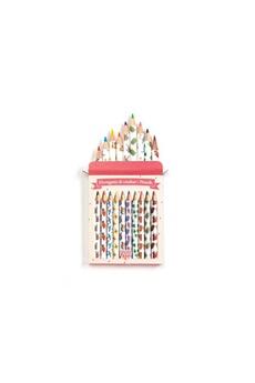 Peinture et dessin Djeco Djeco - crayons de couleurs aiko