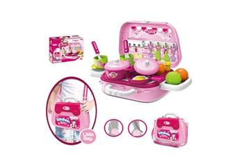 Jouets éducatifs Generic Petit sac à bandoulière pour ustensiles de cuisine pour enfants mini ensemble de jeu dollhouse pour enfants toy4009